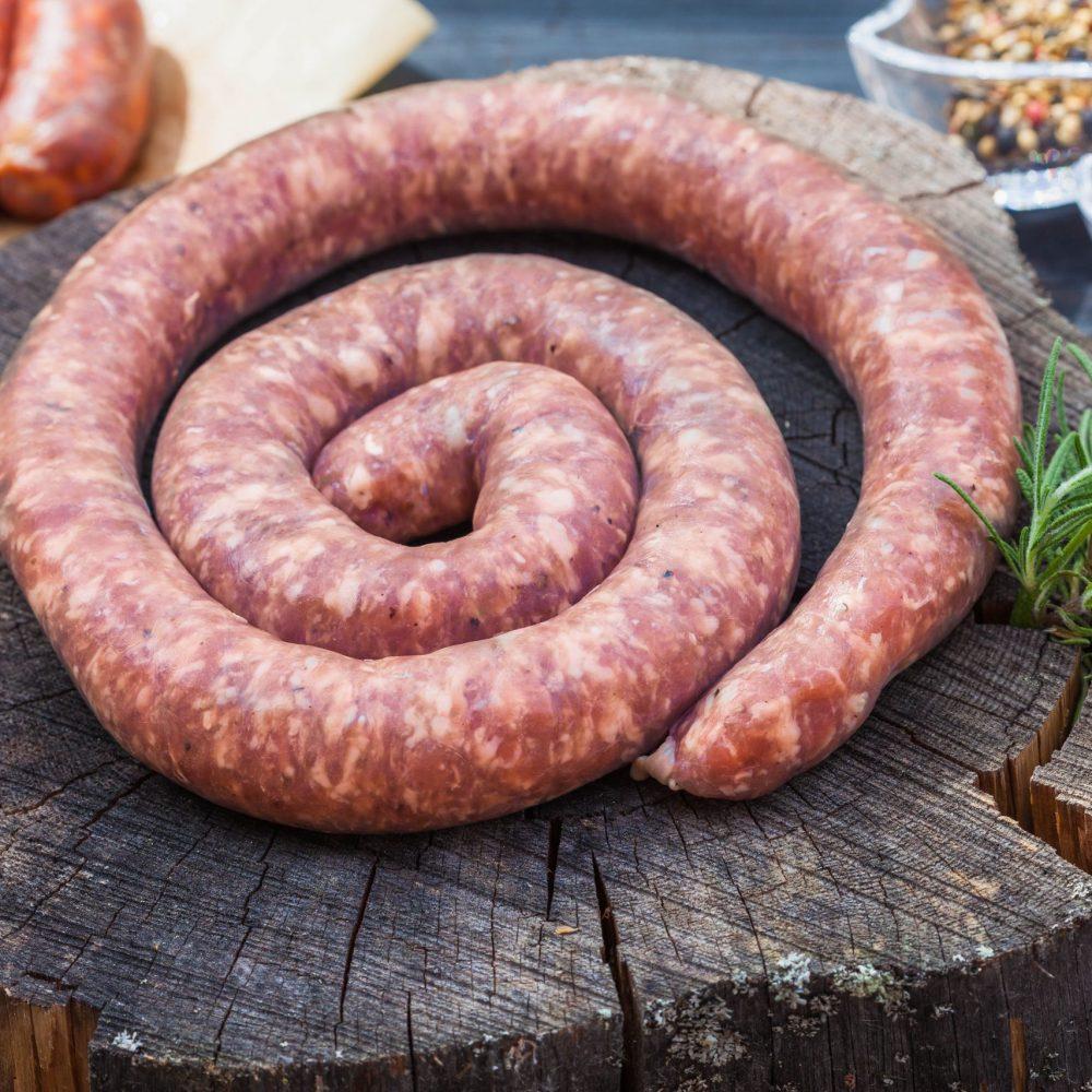 Handmade Toulouse Sausage
